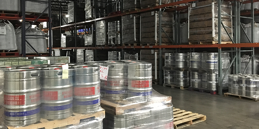 FMG Warehouse is Denver's top cold storage facility for Colorado's craft breweries.